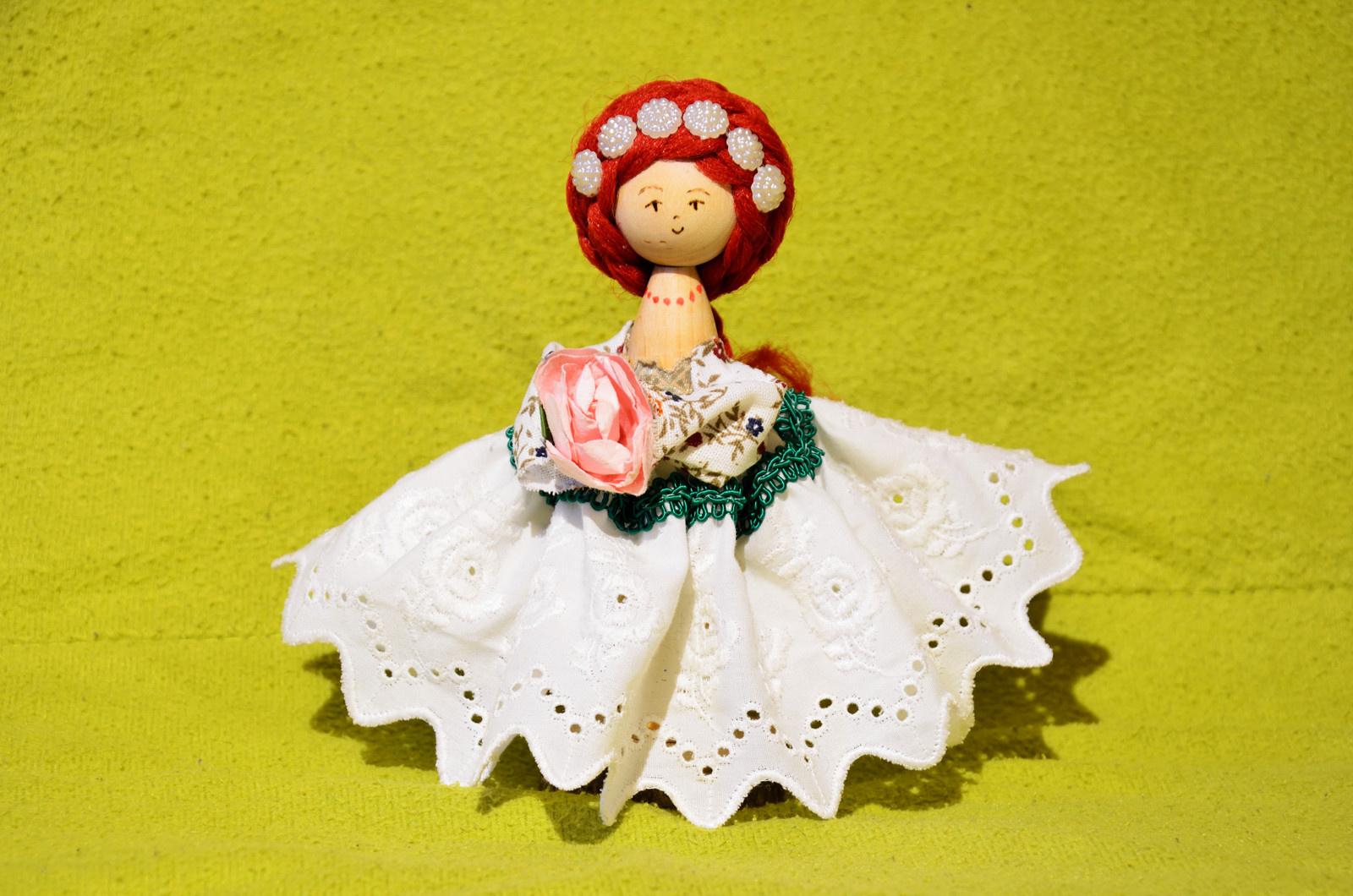 Malenky - dřevěné panenky